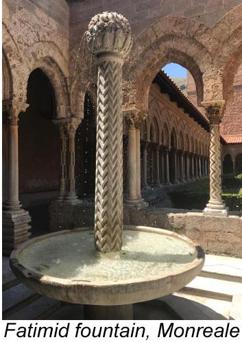Monreale's Norman-Arab architecture.